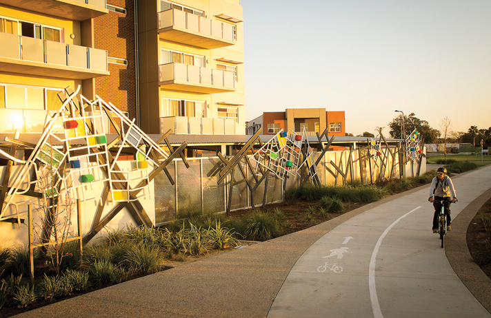 The Square Metropoly fence design